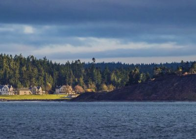 Fort Casey from Admiralty Inlet